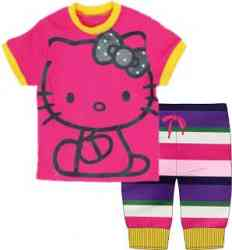 Babygap pink hello kitty playwear