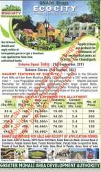 Ecocity Alloted And Land Pooling Plots For Sale Mullanpur New Chandigarh