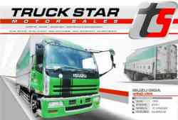 Isuzu Giga Wing Van Truck For Sale